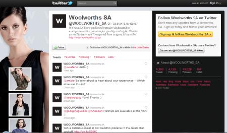 Empresa sul-africana Woolworths possui trabalho on-line interativo